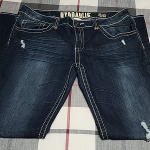 Hydraulic Slim Boot Jeans Size 17 / 18